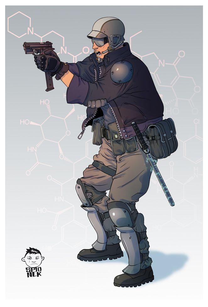 Character Design For Website : Art by mikołaj spionek website http mikolajj