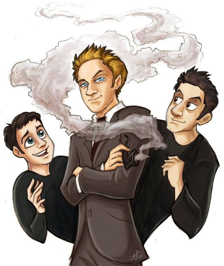 Buffy- The Trio by aerettberg on DeviantArt