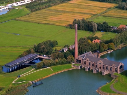 Woudagemaal UNESCO - Lemmer - Renovated with support from #RHDHV - #IIA4U
