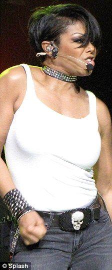 Janet Jackson collared