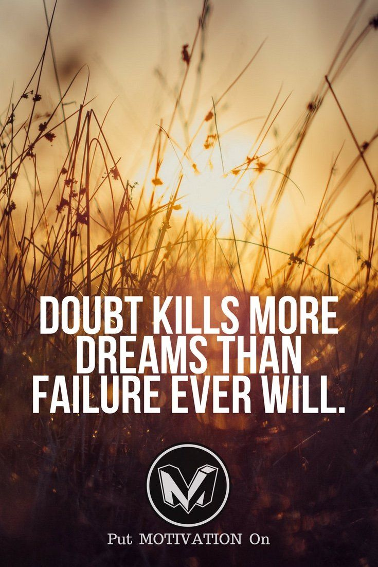 Avoid doubt