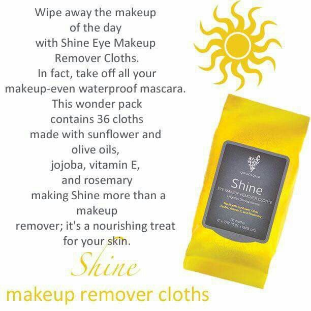 Love these shine clothes! Best makeup remover wipes! #youniquepresenter #makeupremover www.youniqueproducts.com/dawnturpin