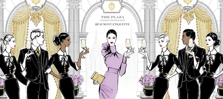 @isabellegeneva The Plaza Hotel to Launch a Series of Modern Etiquette Classes  - TownandCountryMag.com