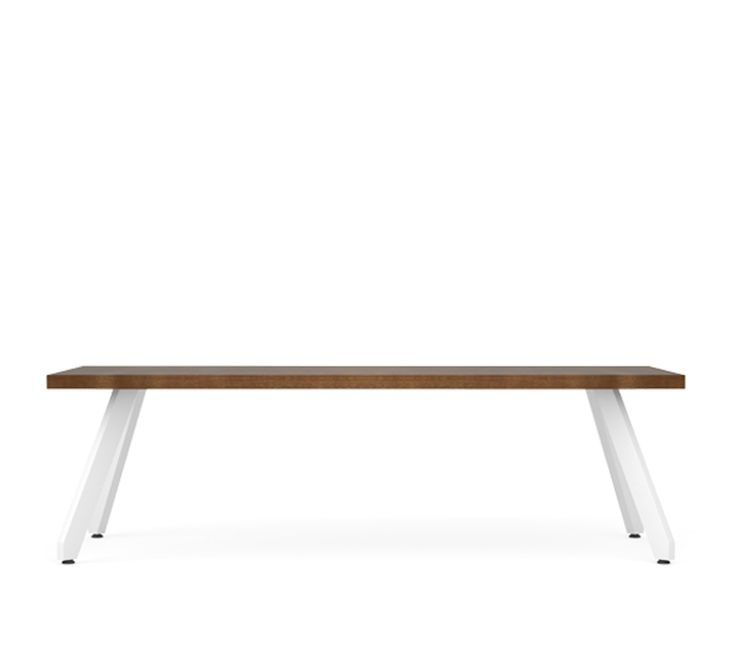 Palomino occasional tables compliment the lounge and guest seating and can also stand alone paired with other lounge chairs.  Top surfaces include natural wa...