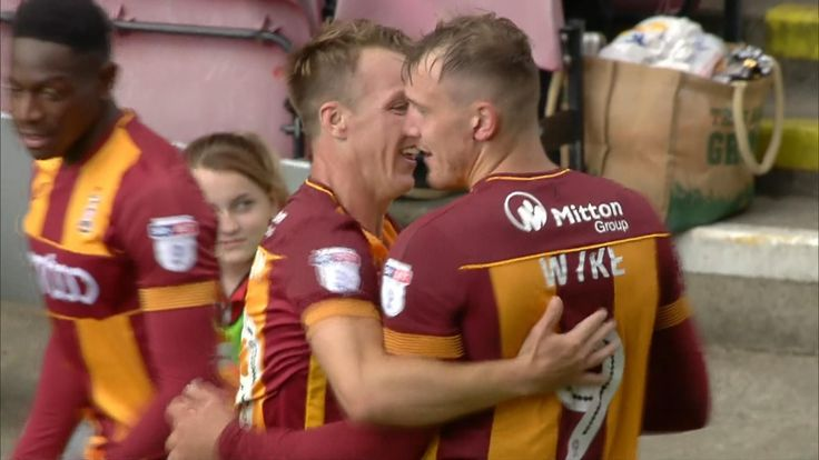 Bradford City 3-1 Bristol Rovers: Wyke's aerial prowess