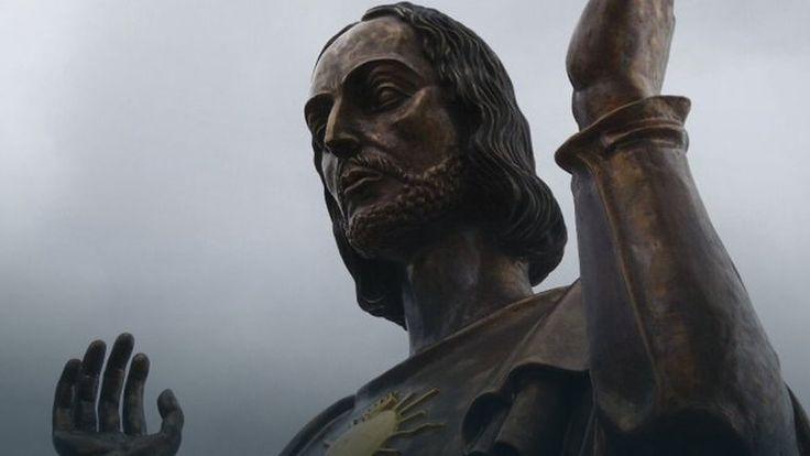 Miasto nie wyraziło zgody na umieszczenie pięciometrowej figury Chrystusa na Placu Mickiewicza #religia