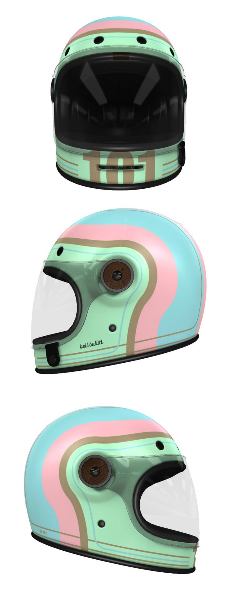 The smoothest way design and get custom paint on your new motorcycle helmet
