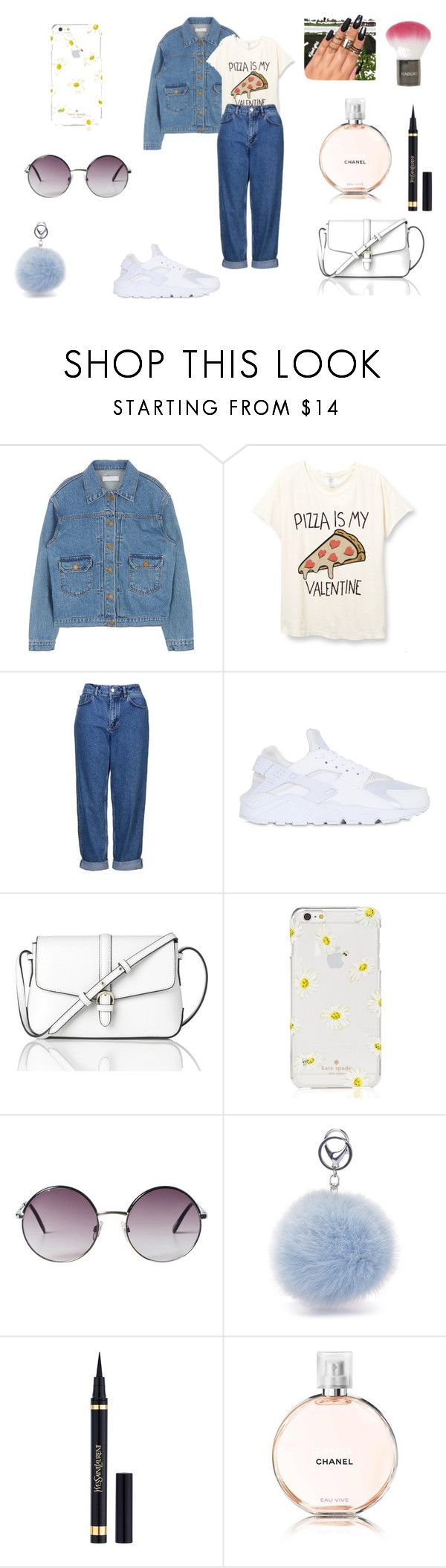 """""""."""" by dragan-2001 on Polyvore featuring мода, Topshop, NIKE, L.K.Bennett, Kate Spade, Monki, Yves Saint Laurent и Chanel"""