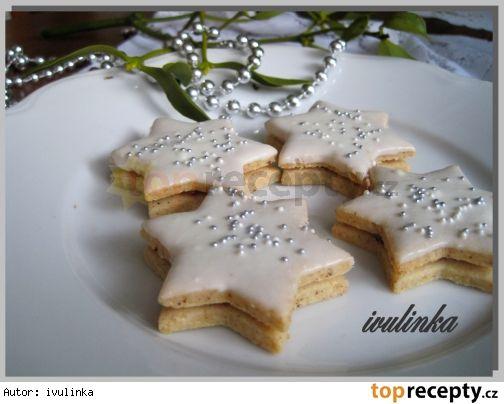 Mandlovo-skořicové hvězdičky