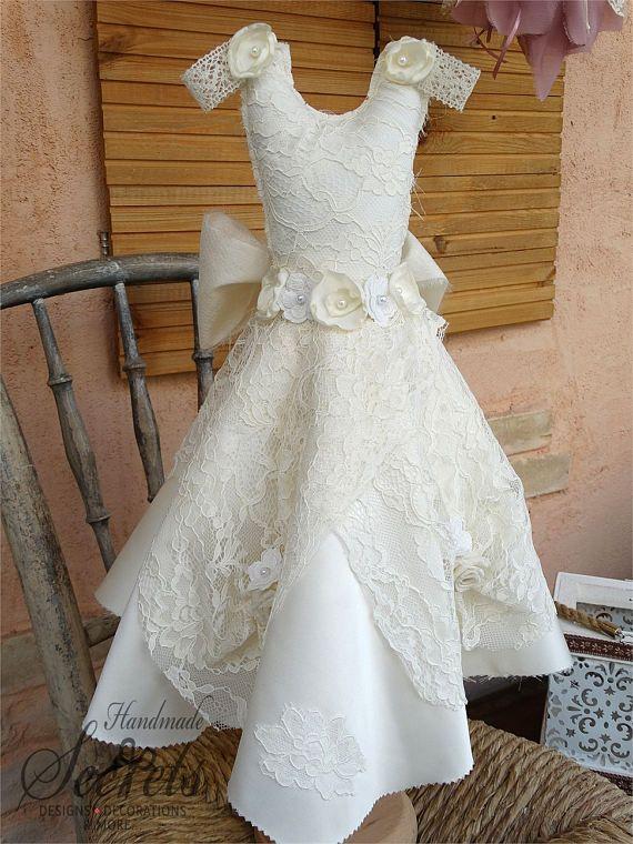 Decorative Dress Vintage Dress Handmade Dress Shabby Chic