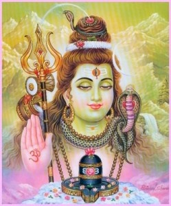 Shiva, the destroyer God. His power allows transformations...