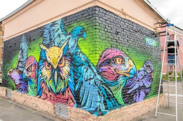 Russian street art - Mednoy