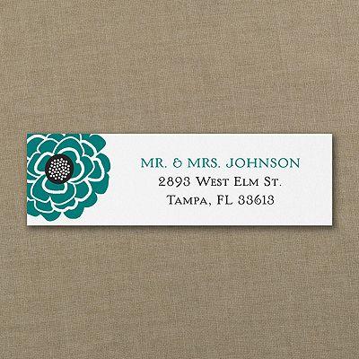 floral return address labels arts arts