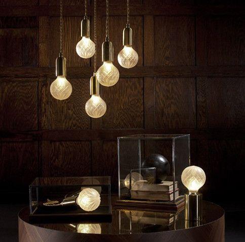 Lee Broom Crystal Bulb Chandelier – уникальный хрустальный подвесной светильник