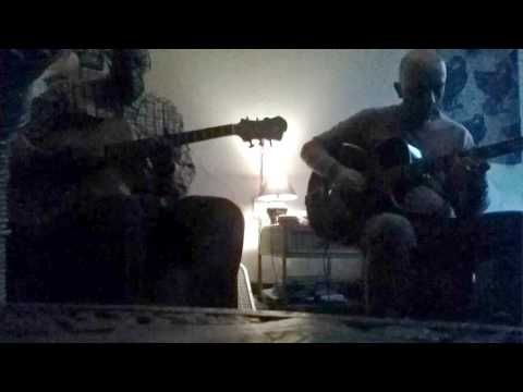 Alessio Menconi & Ed Cherry - playing a blues at home