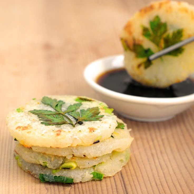 Recipe: Mini Potato Pancakes with Green Garlic and Chives — Recipes from The Kitchn