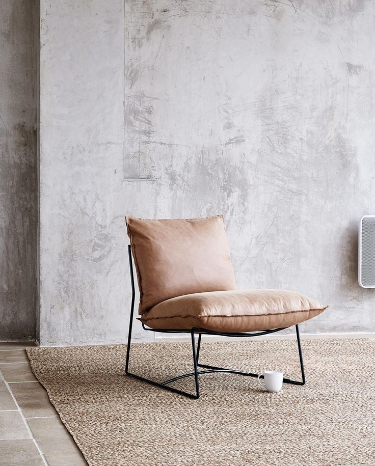 Oliver Bonas Tribeca leather chair