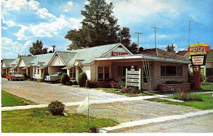 Bailey Motel - Nephi, Utah - Late 1950's to Early 1960's
