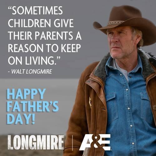 LONGMIRE.....Be still my foolish heart. Cowboys/sheriffs still exist in the form of Walt Longmire!