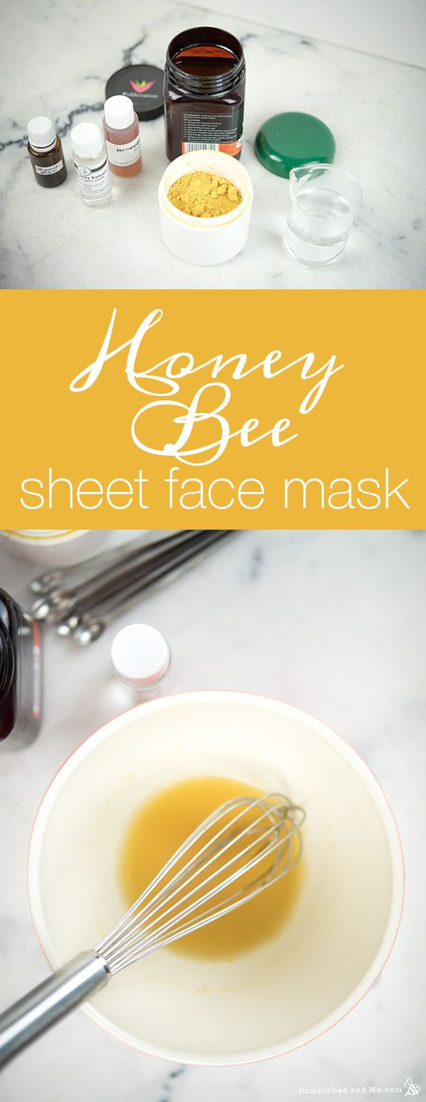 OK—before I dive into this Honey Bee Sheet Face Mask recipe, I need to warn you guys about something. If you've been following me for a while, by now you are used to my mask recipes coming with a few … Continue reading →