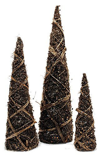 32 best Grapevine Cone Christmas Trees, Wreaths and Decorations ...