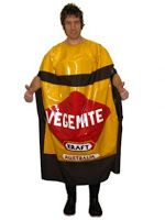 Cornish List Christmas Party 2010: Vegemite costume