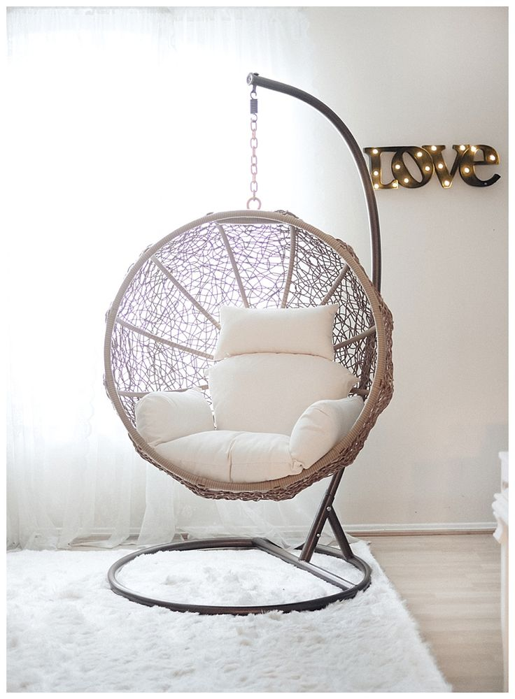 Indoor Swing Chairs Prepossessing Best 25 Swing Chair Indoor Ideas On Pinterest  Indoor Hammock . Design Inspiration