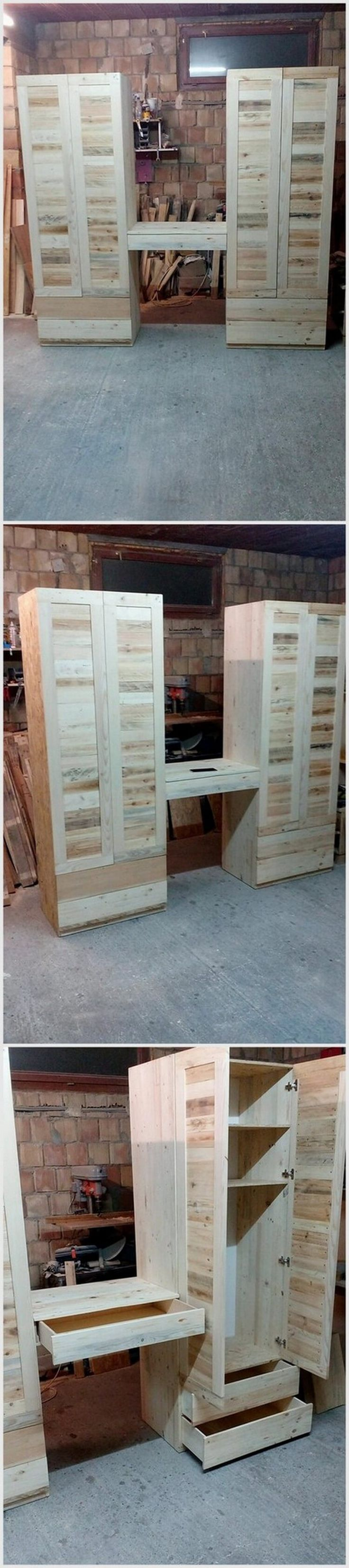 Attractive Wood Pallet Recycling Ideas