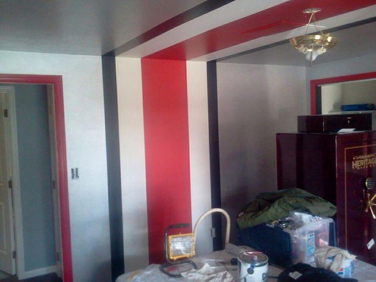 Ohio State Painted Room
