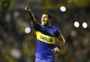 Golazo: Carlos Tevez scores free-kick curler for Boca v Dep. Cali (Videos)