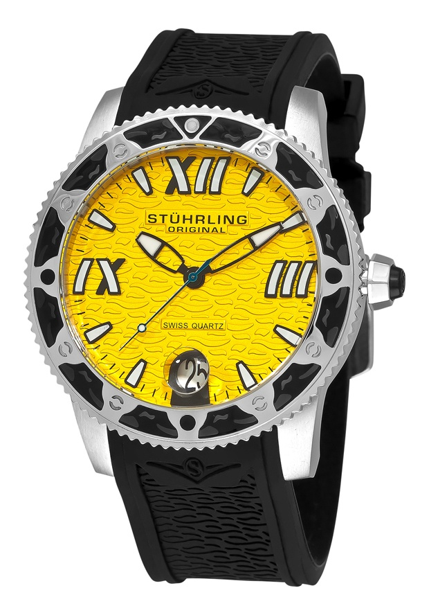 Stuhrling Original 225G.331618, Created for the active man, this Regatta Weekender infuses your ensemble with color and style. Embrace Stuhrling Original's Regatta Weekender with pride!