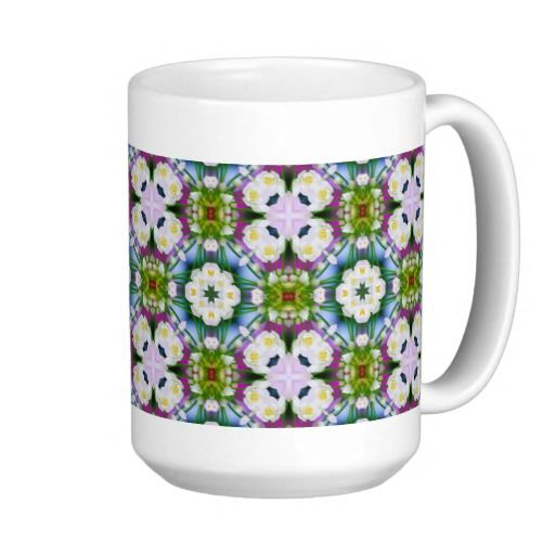 Countrystile spring flowers pattern No10 Mug