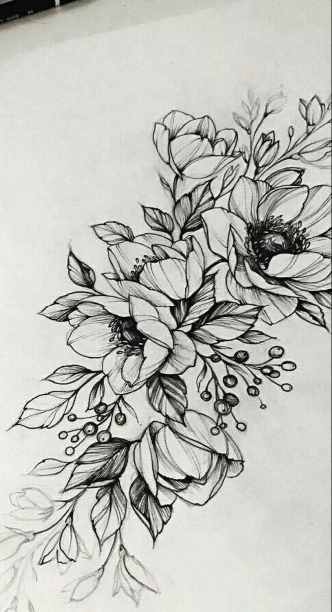 1001 Ideas And Tutorials For Easy Flowers To Draw Pictures