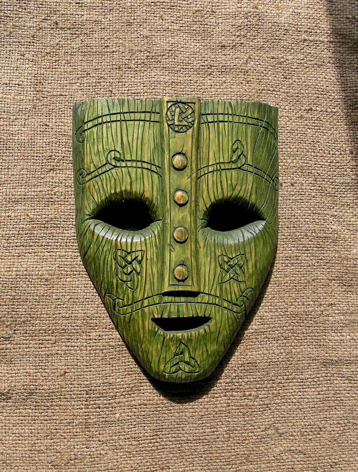 Mask Of The God Loki From The Movie Quot Mask Quot Material Pine