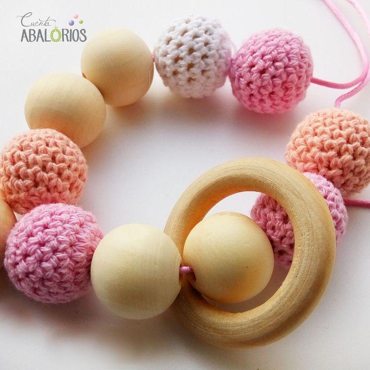 Collar de lactancia. Encontrarás los materiales en: www.cuentaabalorios.com