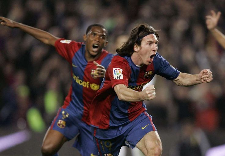 El Clásico classics: the best of Real Madrid v Barcelona:     Barcelona 3‐3 Real Madrid ﴾2007﴿:   No Barcelona player had scored a hat‐trick in El Clasico since Romario's treble in 1994 but 19‐year‐old Messi rewrote history books with a scintillating display to secure a draw for 10 men Barcelona at the Camp Nou. Ruud van Nistelrooy's brace and Sergio Ramos's header were cancelled out by the Argentinian, who announced himself on the biggest stage in Spanish football.