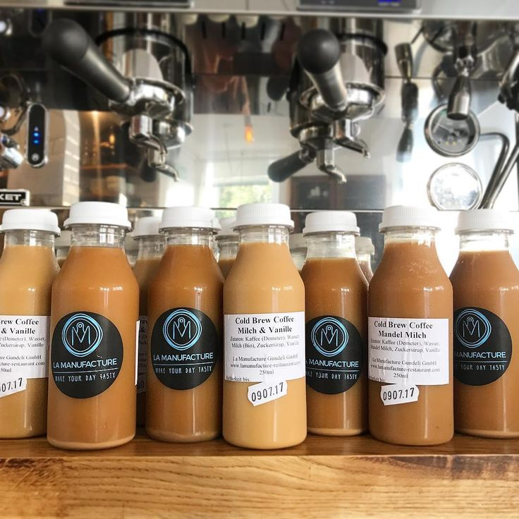 """119 mentions J'aime, 6 commentaires - La Manufacture (@la_manufacture) sur Instagram: """"We have Cold Brew Coffee 😌 Refreshing good coffee with milk, almond, soya or just black…"""""""