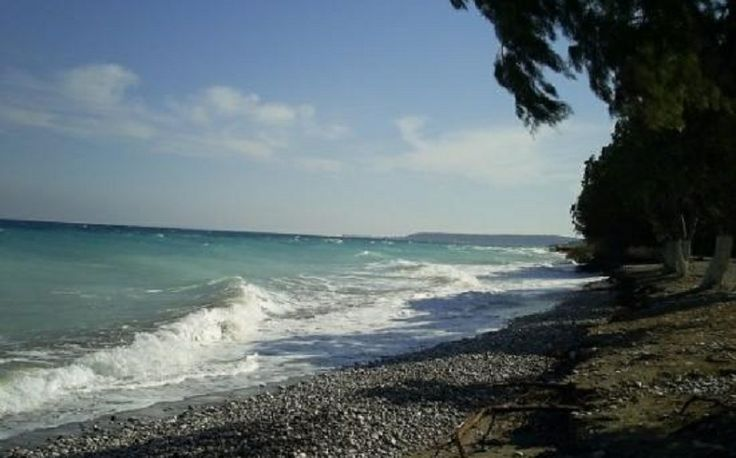 Vakantie Rhodos Trianda Ialyssos - natuurlijk strand