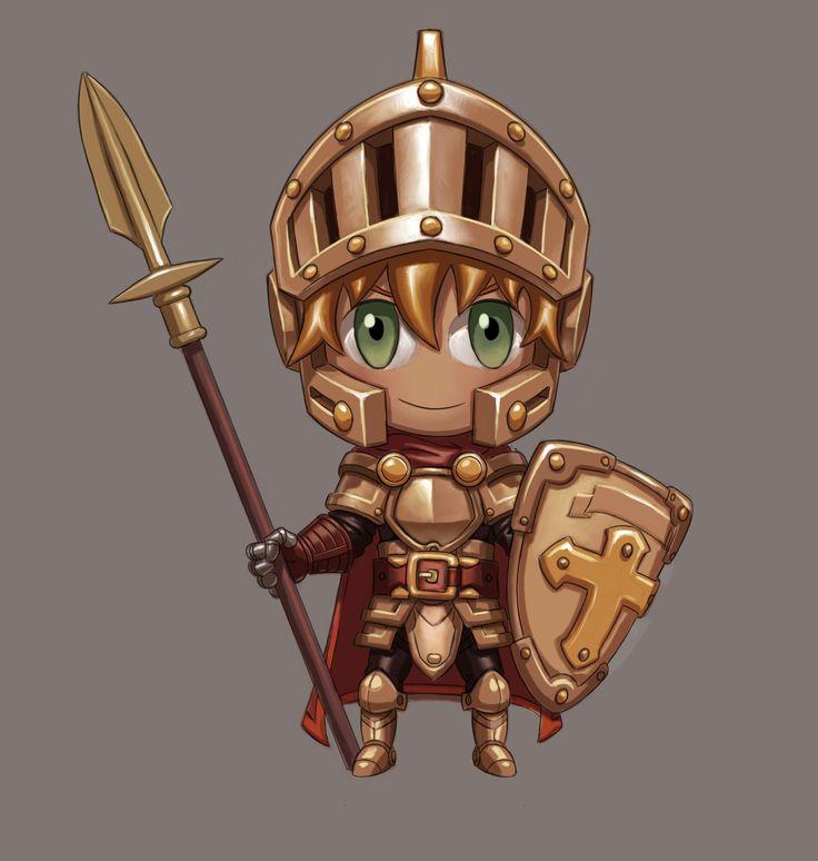 ArtStation - Chibi knight, Jose Artundo