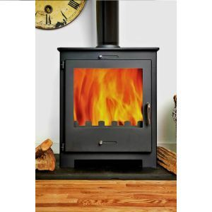 Stoveworld Cube 5KW Contemporary Wood Burning Stove