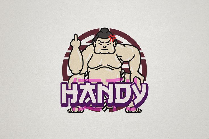 Handy - Logo for a sumo robot - Julien Noguera on Behance
