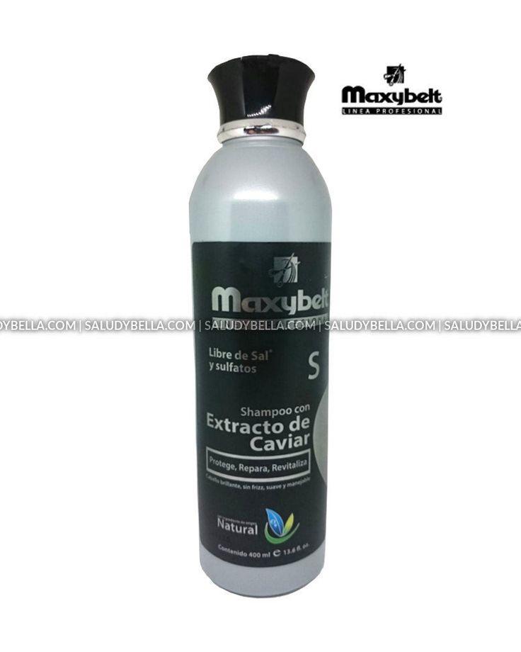 Maxybelt   Extracto Caviar Shampoo Salt Free   Extremely Damaged Hair 8 and more benefits No Parabens   Cabello muy dañado excelente resultado Sin Sal  13.5oz-400ml ** Read more at the image link. #hairclip