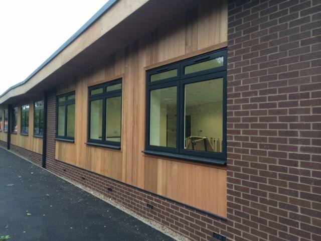 Completed project at Wilson Stuart School in Birmingham. We constructed a 4no new classroom block #school #build #construction