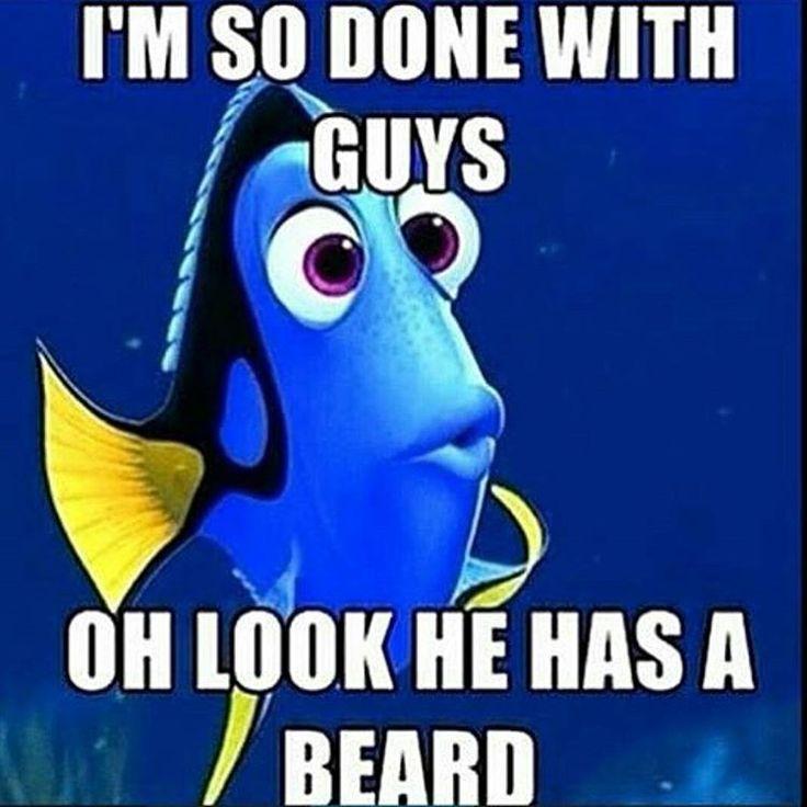Beards are my kryptonite