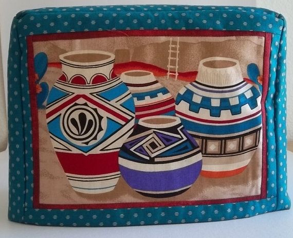 Toaster Cover  Two Slice Southwestern by PatsysPatchwork on Etsy, $18.00