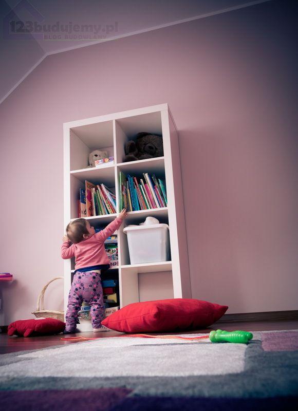Baby room. Pokój dziecka , różowe ściany białe mebelki  #babyroom