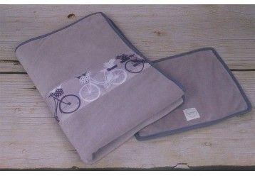 ALGAE & ORGANIC Duvet & pillow set Bikes from Amsterdam