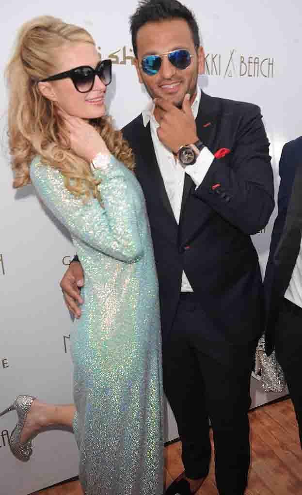 Paris Hilton & Thomas Gross by http://www.wikilove.com