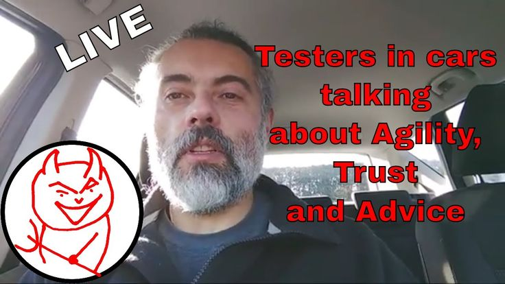 Live: Agility - Trust - Take Your Own Advice https://youtu.be/fAG0FERHGSw