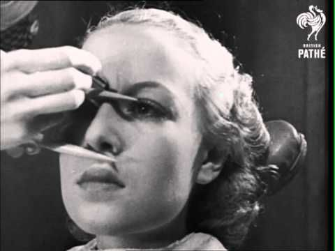 This Vintage (1936) Makeup Tutorial Shows You How The Classic Beauties Did It